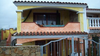 Photo for house a few steps from the sea in loc sa petra ruia with beautiful pine forest and sea