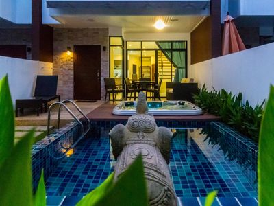 Photo for AP West 3 - Pool and jacuzzi in Kamala holiday home