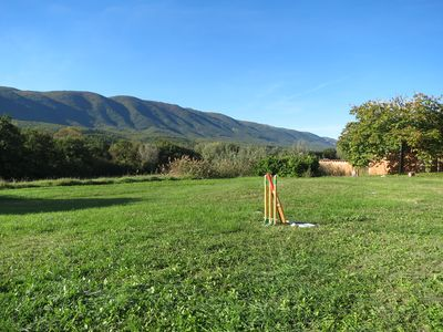 Photo for La Bastide 1830, heated pool, Luberon view, garden, 15 km from Apt