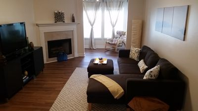 Sparkling clean 2 Bedroom 1 Bath condo centrally located to everything
