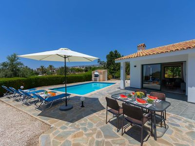 Photo for A villa with all the staples of a villa holiday - the private pool, sun terrace, BBQ & location