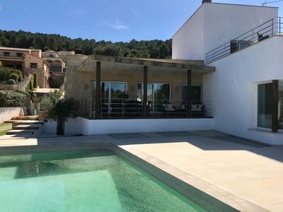 Photo for Exclusive villa with private pool in Jávea, 3 bedrooms and 3 bathrooms.