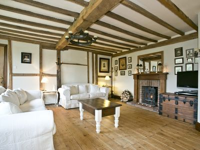 Photo for Stunning 15/16th Century Grade II listed Farmhouse. Suitable for 6 to 12 people