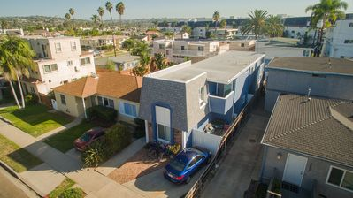 Photo for Large Townhouse 1/2 block to Bay, Water View, Beach Supplies, BBQ, Parking