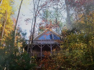 Photo for Beautiful Lake House on Lake Hiwassee in Bear Paw with Dock and majestic views