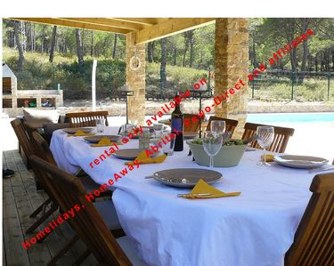 Photo for Superb Villa 8-10 persons with private pool, near beach