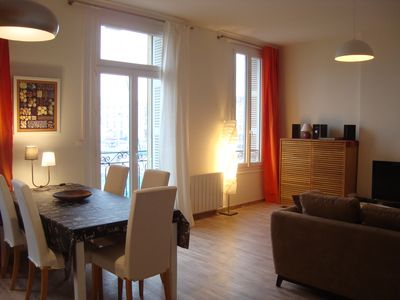 Photo for Cozy apartment with direct view of the Old Port