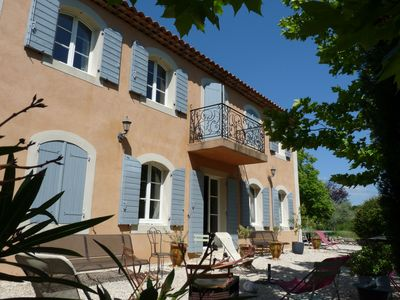 Photo for Charming HOUSE. Aix en Provence. Large swimming pool. Garden: 1 hectare with trees