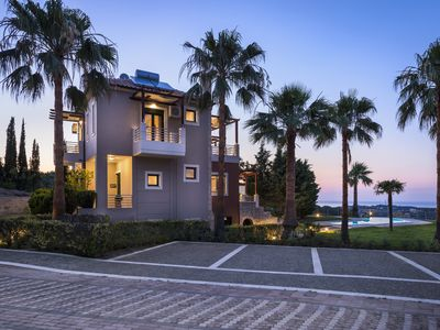 Photo for Kissos villa with private pool chania