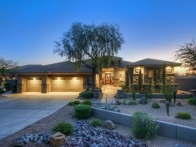 Photo for Beautiful Gated North Scottsdale Golf Course Home