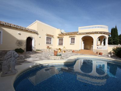 Photo for Beautiful 3 bedroom villa, located close to the beach