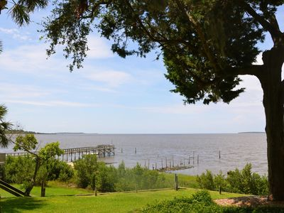 Photo for Beautiful Open Gulf Townhouse,  Private Downtown Location
