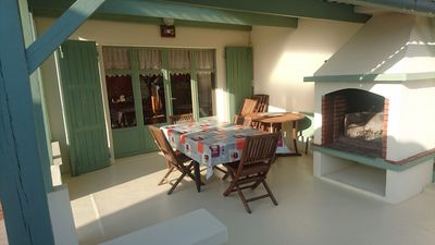 Photo for Villa with garden, port, beach, shops nearby, 3 bedrooms, 110m2