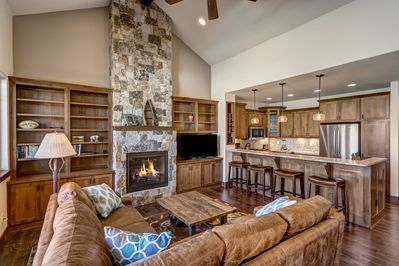 Living Room - Welcome to Steamboat Springs! This townhouse is professionally managed by TurnKey Vacation Rentals.