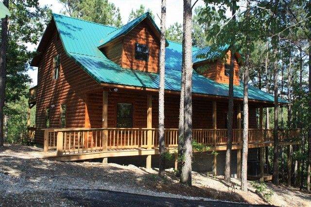 Broken Bow Cabin Rental   Cross Timbers Is A Private Secluded Cabin, But Is  Just