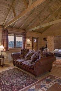 Photo for Rustic Log Cabin overlooking Sherwood Forest