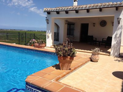 Photo for Spacious Four Bedroom Villa With Private Pool, Panoramic views and Roof terrace
