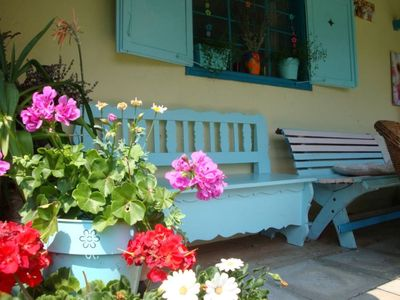 Photo for Colorful family house in the country: for a large or two friendly family