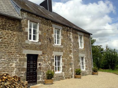 Photo for 18th Century Normandy Family Farmhouse with 8 Acres in Stunning Countryside