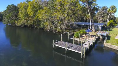 Photo for Open  the front door and there's the Homosassa river.A beautiful place to relax
