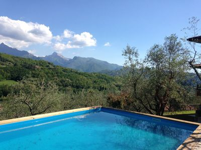 Photo for Elegant Villa in Lunigiana, sleeps 12, pool, beautiful view, parking