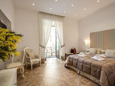Photo for Modern and  central suite in Sorrento center