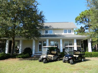 Two New Golf Carts; An Absolute Necessity to Navigate the 2400 Acre Resort!!