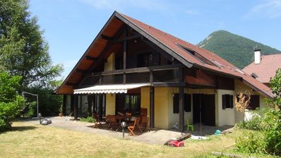 Photo for ANNECY - Family house near lake Menthon St Bernard - Absolute calm