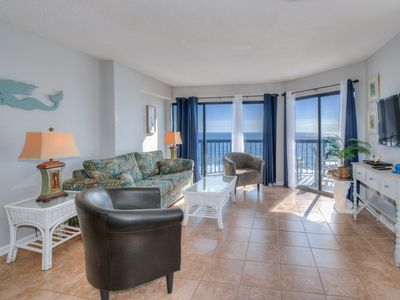 Photo for Beautiful Oceanfront Penthouse Condo - Booking 2019!
