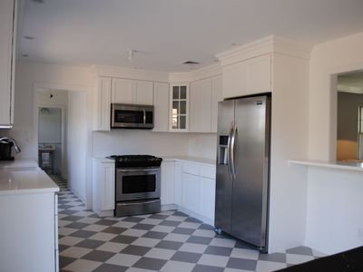 Photo for Newly Renovated Sag Harbor Village home with water views and heated pool