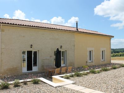 Photo for 19th Century French Farmhouse With Private Heated Pool And Countryside Views