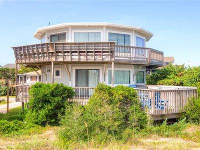 Photo for One-of-a-Kind Oceanfront Home in Avon! Hot Tub, Dog-Friendly, Easy Walk to Beach