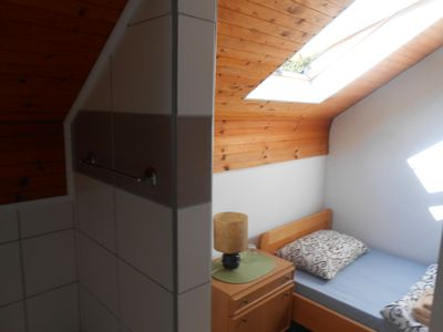 Photo for Attic room with separated beds