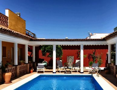 Photo for Casa Uno  Your Roman Style Villa in the Heart of Andalucia - Pool, BBQ & Terrace