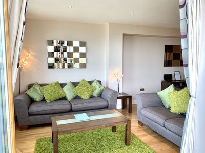 Photo for A fistral beach that sleeps 4 guests  in 2 bedrooms