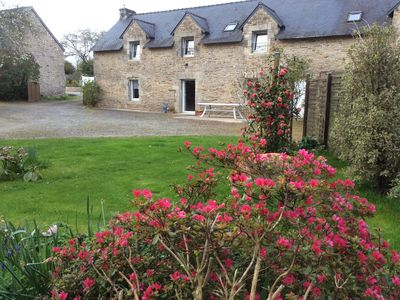 Photo for Country house - renovated farmhouse 8 pers / 15km Gulf of Morbihan