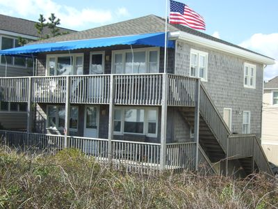 Photo for OCEANFRONT Duplex, Private Walk to the beach
