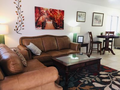 Photo for Quiet, cute and 1.3 miles from downtown. This unit is cozy and pet friendly