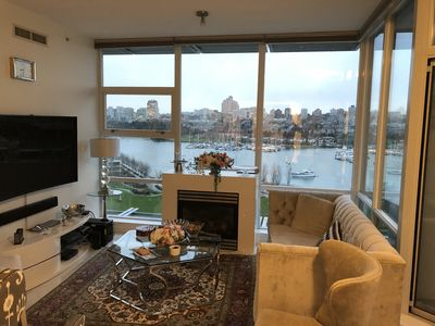 Photo for 5 Star Luxury Park & waterfront Private Suit in heart of downtown with Breakfast