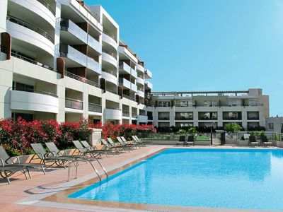 Photo for Cros-de-Cagnes Apartment, Sleeps 6 with Pool, Air Con and Free WiFi
