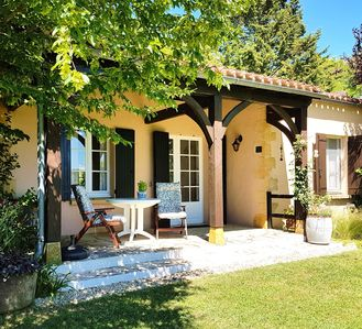 Photo for Luxury Dordogne Self Catering Cottage, Exclusively for Adults, 2 pools