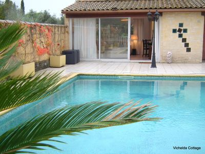Photo for THE VICHELDA COTTAGE - HOLIDAY RENTAL, IN AUBAIS, GARD, FRANCE