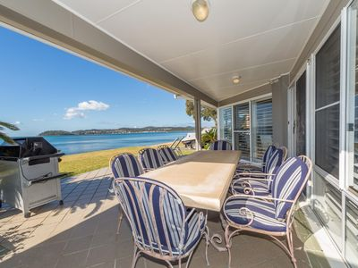 Photo for Holiday House on the Beachfront with a private lift!