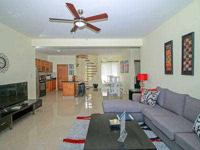 Photo for Modern 3 bedrooms penthouse for rent in Cabarete.