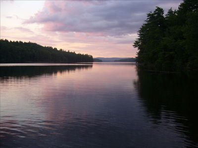 Photo for Pristine Parker Pond and 50 acres of privacy
