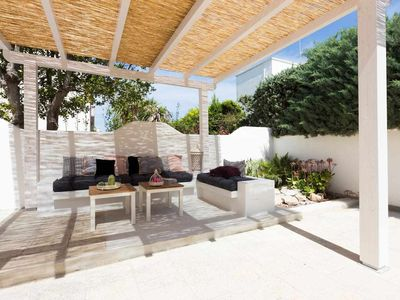 Photo for Villa Clodia only 500 meters from the sandy beach - Private garden - Quiet locat