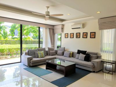 Photo for 5 bedrooms pool vila near the Beach Bangtao