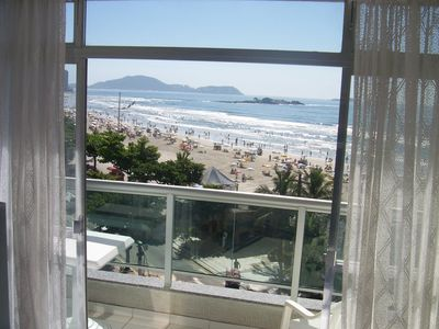 Photo for Guaruja Pitangueiras VISTA TOTAL MAR - 3 Bedrooms and 1 Suite