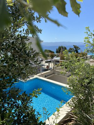 Photo for Magnificent new villa on the roof Swimming pool and Jacuzzi with its full sea view.