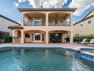Photo for Gathering Elegance | Luxury Continental Style Home with Large Pool Deck